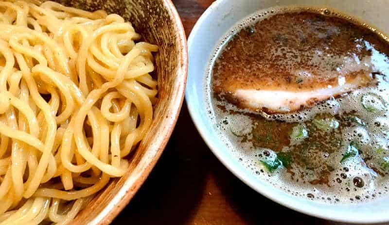 tsukemen noodle