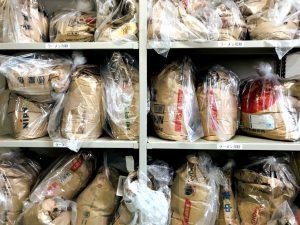 Different brands of ramen noodle flours we use at Noodle Master Labs