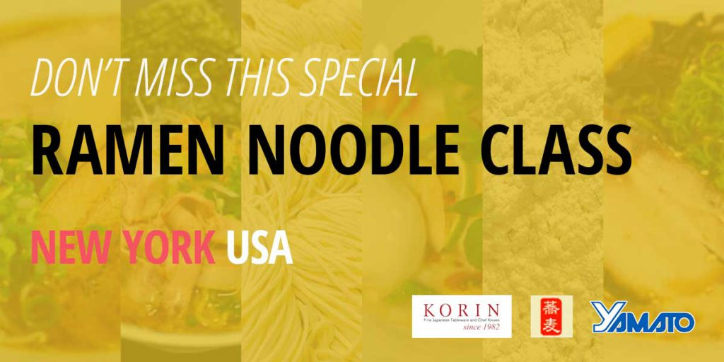 Don't miss this special Ramen Noodle Class in New York USA