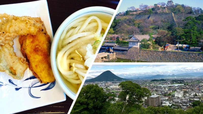 Kagawa prefecture - home of Sanuki Udon