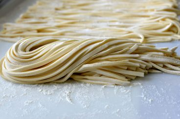 Udon is probably the most sensitive major Japanese noodles